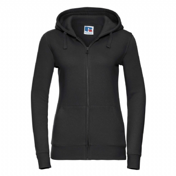 WICK HIGH SCHOOL LADIES ZIPPED HOODIE WITH EMBROIDERED LOGO